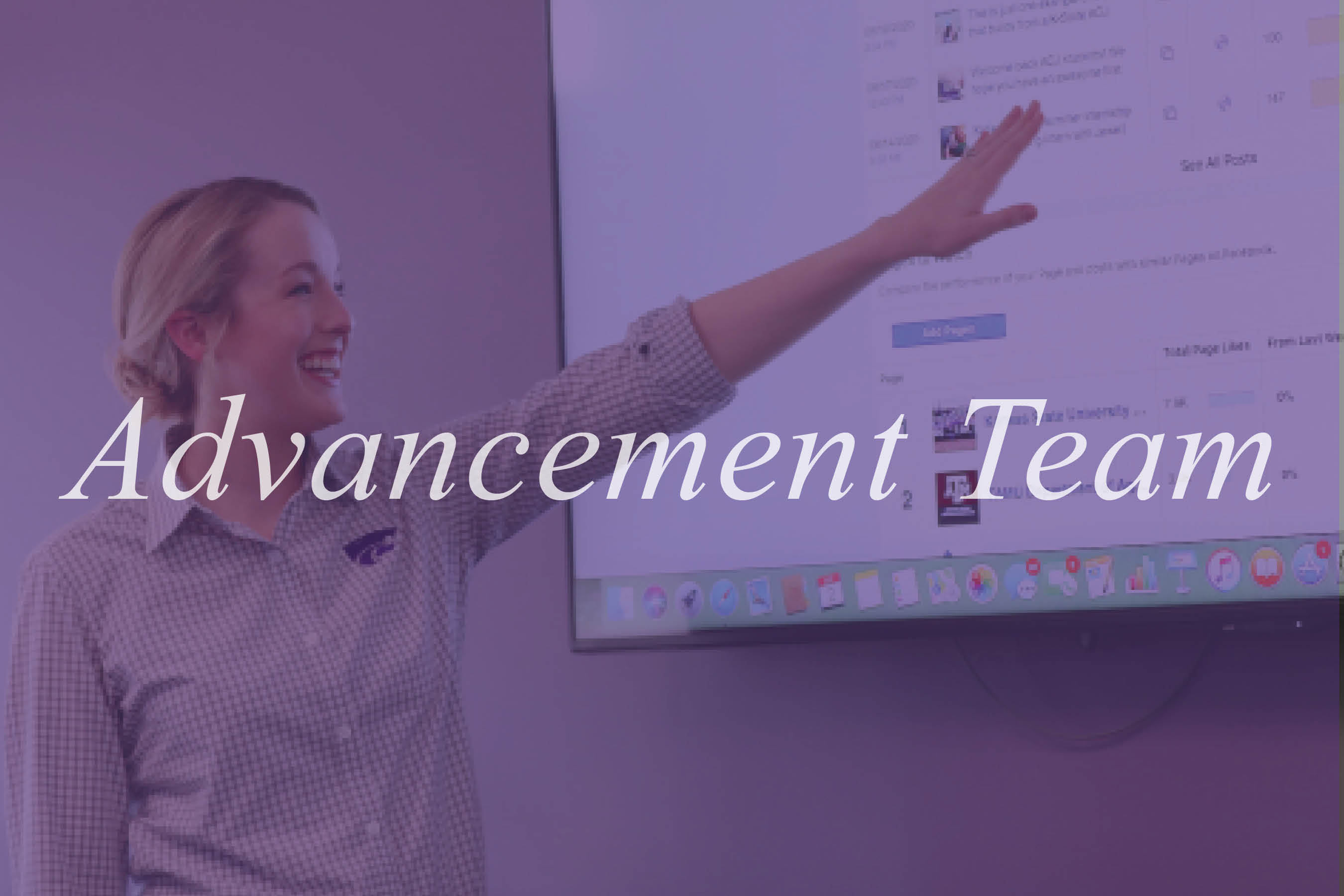Advancement Team Image