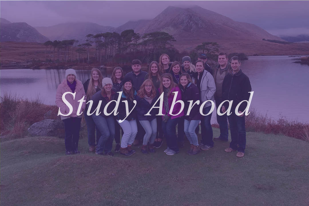 Image of Study Abroad. When clicked, leads to Study Abroad Academic Approval PDF.