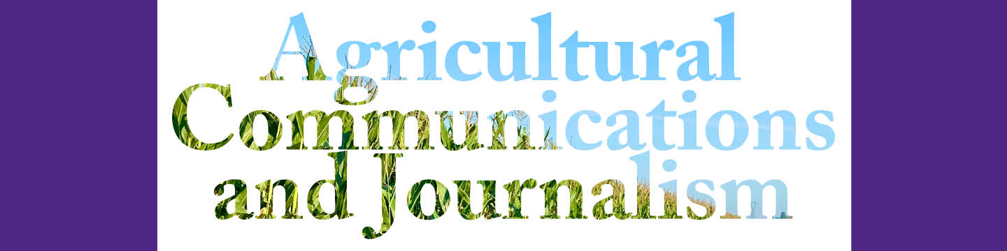 Agricultural Communications and Journalsim