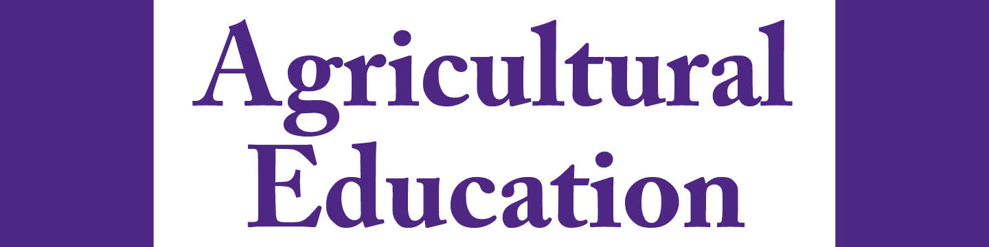 Agricultural Education Title Bar